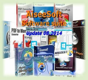 AiseeSoft Software SUITE  (Update 08.2014)