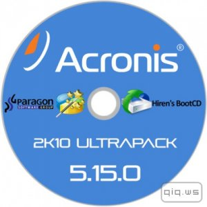 Acronis 2k10 UltraPack CD/USB/HDD 5.15.0 (ENG|RUS)