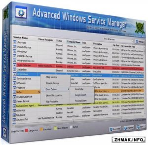 Advanced Windows Service Manager 5.0 Portable