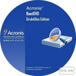 Acronis BootDVD 2015 Grub4Dos Edition v.32 (9/28/2015) 13 in 1